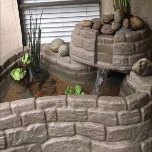 Indoor / outdoor Goldfish pond